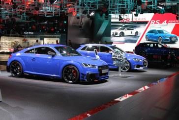 IAA 2017 – Audi TT RS Coupé avec des pièces Audi Sport Performance Parts