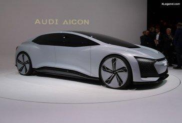 IAA 2017 – En immersion dans le concept car Audi AIcon préfigurant l'avenir de l'automobile