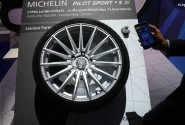 IAA 2017 – Pneu connecté Michelin Pilot Sport 4 S : une nouvelle expérience apportée au conducteur