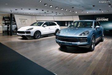 IAA 2017 – Porsche expose sur son stand les nouveaux Porsche Cayenne