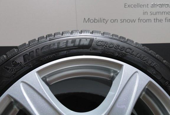 IAA 2017 – La famille CrossClimate s'agrandit avec les pneus Michelin CrossClimate+ et Michelin CrossClimate SUV