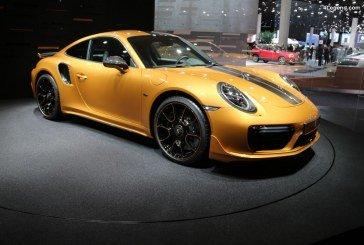 IAA 2017 – Porsche 911 Turbo S Exclusive Series et sa jante optionnelle en carbone