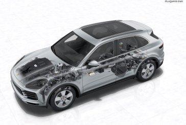 Nouveau Porsche Cayenne 2017 – Moteur, boîte de vitesses et transmission intégrale
