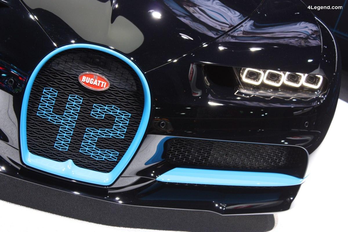 IAA 2017 - A la découverte des secrets du design de la Bugatti Chiron avec Achim Anscheidt