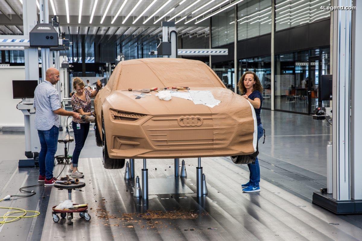 Audi Design Center - A la découverte de ce nouveau lieu du design avec la nouvelle Audi A7 Sportback