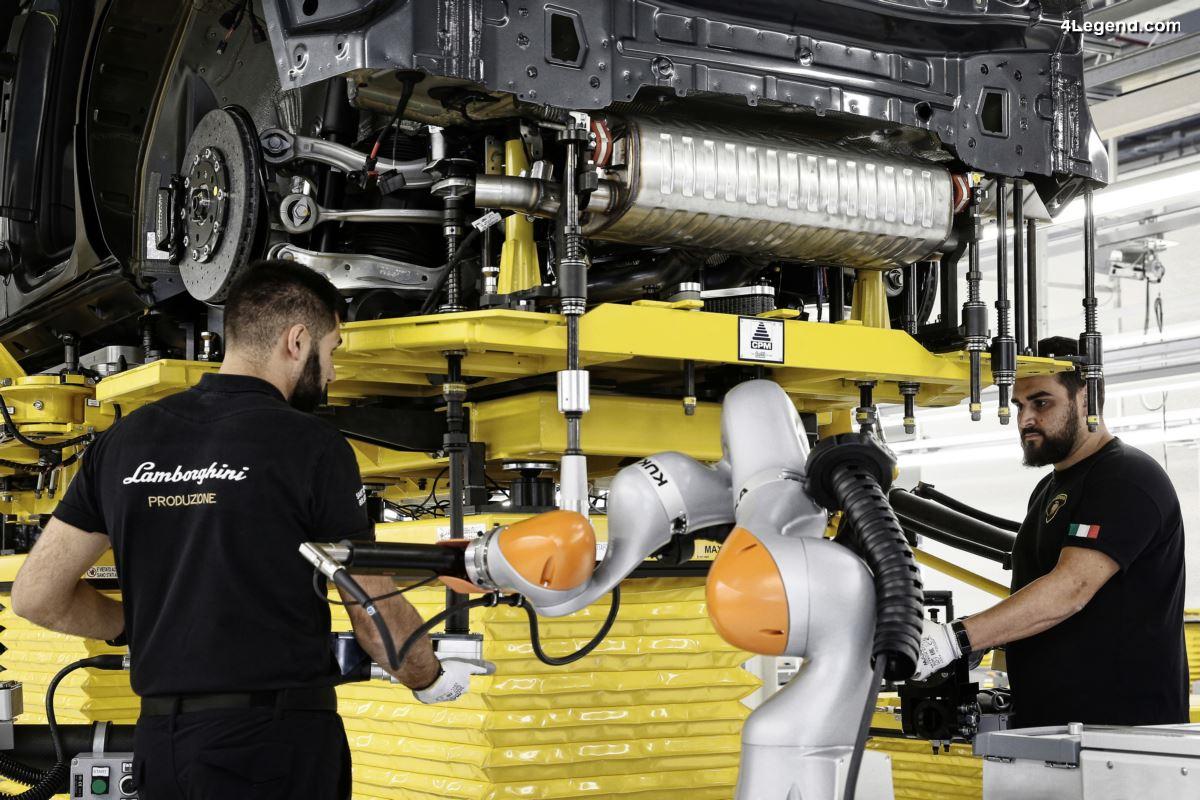 Reprise de la production Lamborghini au 4 mai  2020 avec plus de sécurité