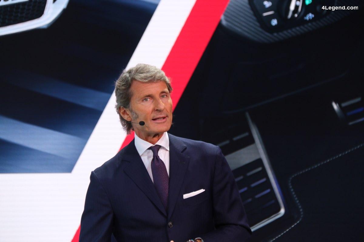 Le PDG de Bugatti roule quotidiennement en Porsche Panamera
