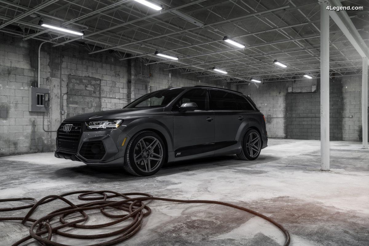 Audi Q7 ABT Vossen 1 of 10 - Une édition limitée de 10 exemplaires