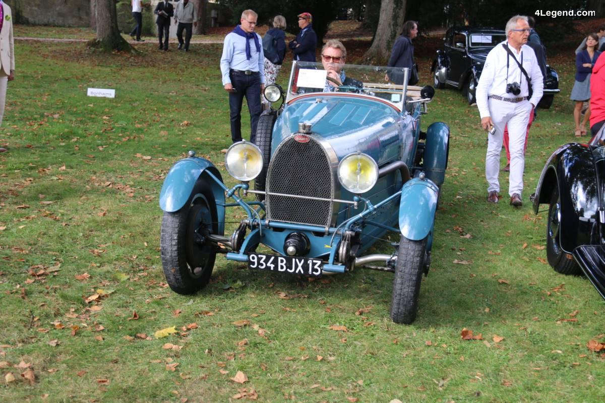 Chantilly 2017 - Bugatti Type 43 Torpédo Grand Sport de 1928