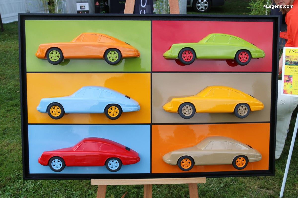 Chantilly 2017 Sublimes Sculptures Porsche De Philippe