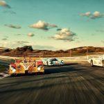 Historic Grand Prix Zandvoort 2017 – Des voitures de course historiques Porsche en piste