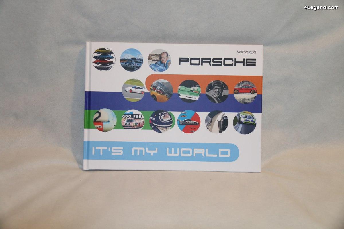 Livre Porsche - It's My World - Un excellent livre décalé et coloré sur le monde Porsche