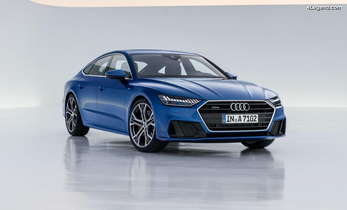 Nouvelle Audi A7 Sportback - Le visage sportif d'Audi au sein des véhicules haut de gamme