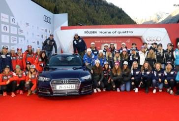 Audi renouvelle son partenariat avec la Coupe du monde de ski alpin