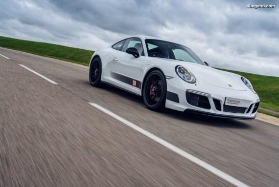 Porsche 911 Carrera 4 GTS British Legends Edition – Une série spéciale anglaise de 3 modèles en hommage à 3 pilotes britanniques