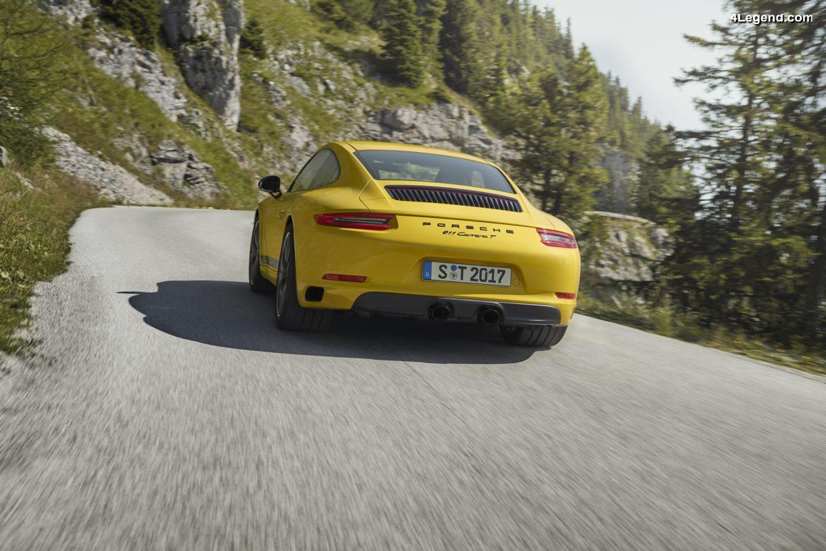 Porsche 911 Carrera T - Un nouveau modèle allégé destiné aux puristes