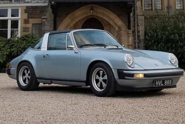 Porsche 911 E – Une Porsche 911 SC Targa de 1979 électrique