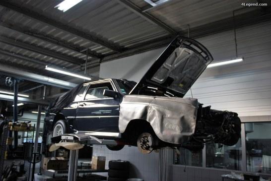 Restauration Audi Sport quattro: épisode 5.