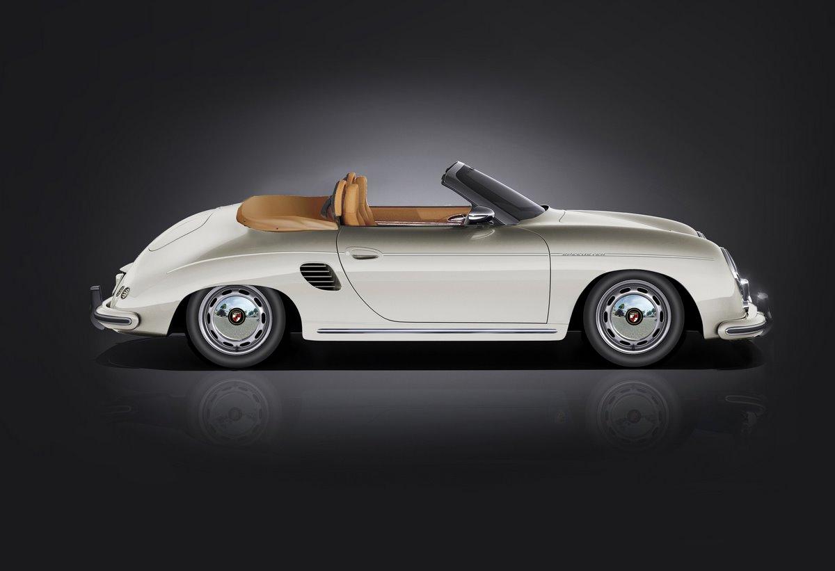 Stärke Revolution Speedster - Une Porsche Boxster avec l'apparence d'une Porsche 356