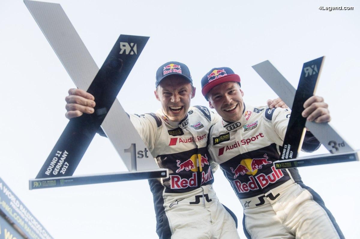WRX - Quatrième victoire en 2017 pour le pilote Audi - Mattias Ekström