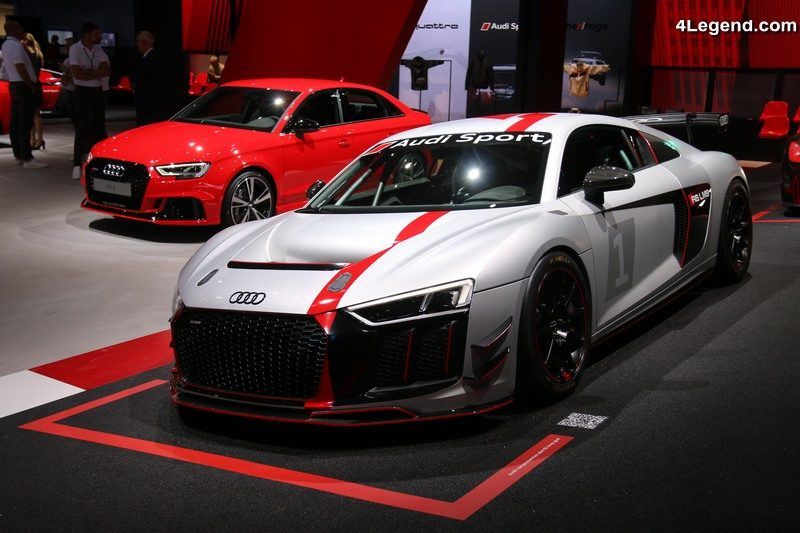 commercialisation de l audi r8 lms gt4 travers le monde au prix de 198 000 euros ht 4legend. Black Bedroom Furniture Sets. Home Design Ideas