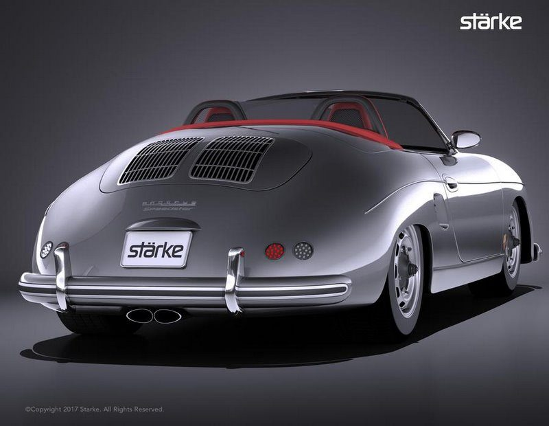 St 228 Rke Revolution Speedster Une Porsche Boxster Avec L