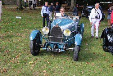 Chantilly 2017 – Bugatti Type 43 Torpédo Grand Sport de 1928