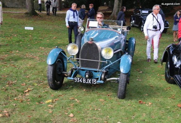 Chantilly 2017 – Bugatti Type 43 Torpédo Grand Sport de 1928