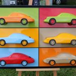 Chantilly 2017 – Sublimes sculptures Porsche de Philippe Guegan