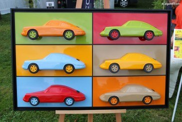 Chantilly 2017 – Sublimes sculptures Porsche de Philippe Guegan