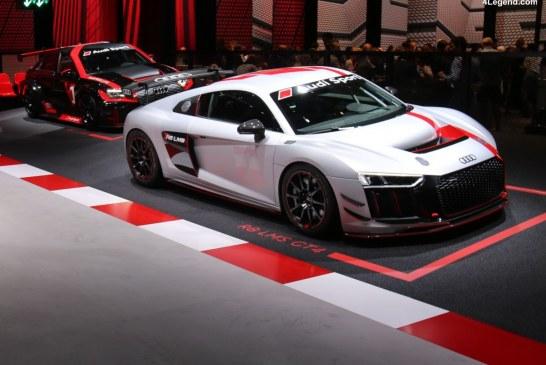 Commercialisation de l'Audi R8 LMS GT4 à travers le monde au prix de 198 000 euros HT