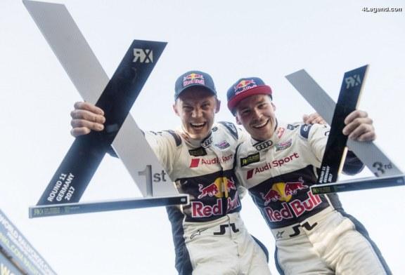 WRX – Quatrième victoire en 2017 pour le pilote Audi – Mattias Ekström
