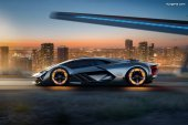 Lamborghini Terzo Millennio - Une vision d'avenir et un rêve basé sur la collaboration avec le MIT