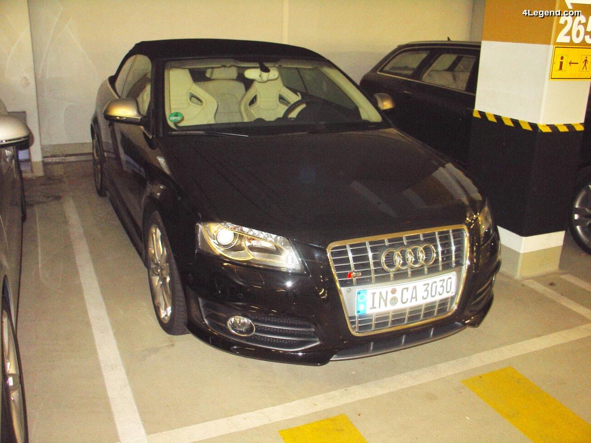 Audi S3 Cabriolet de 2008 - Une petite série de 5 exemplaires non commercialisés