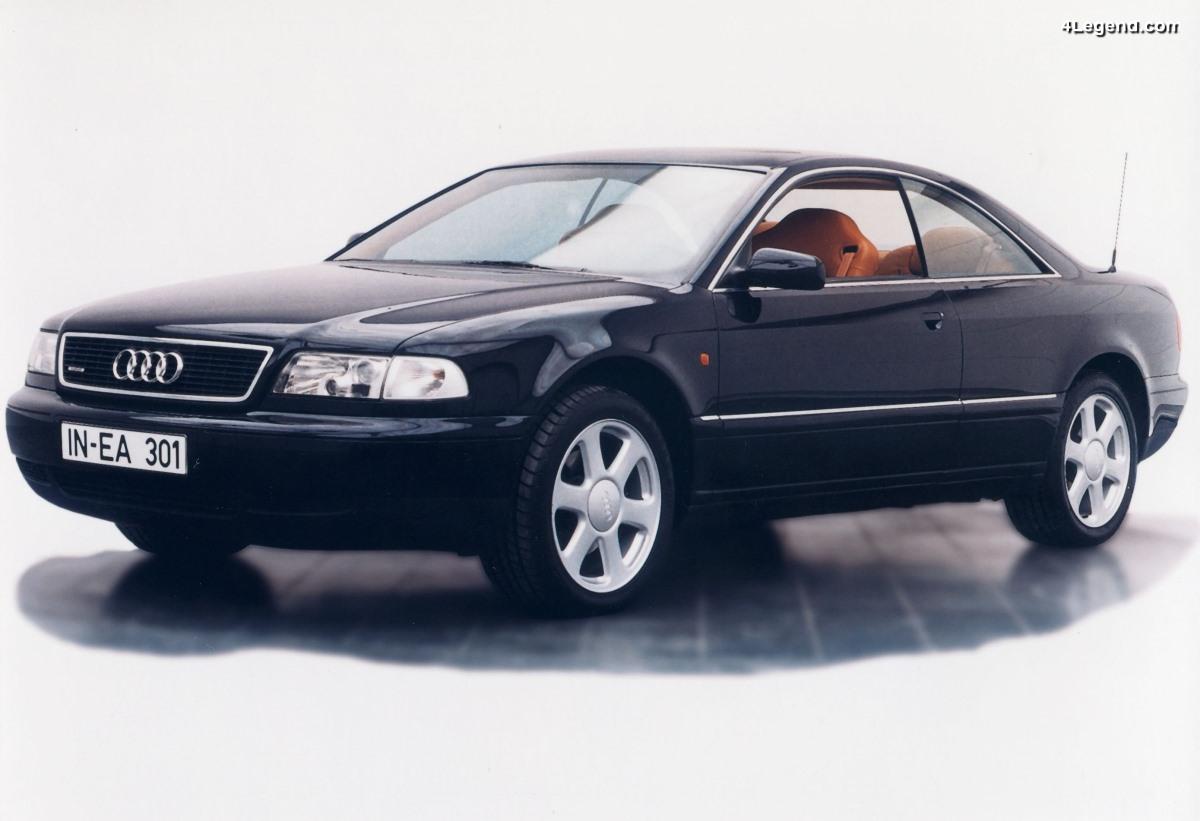 Audi A8 Coupé de 1997 - Un concept-car roulant réalisé par IVM Engineering