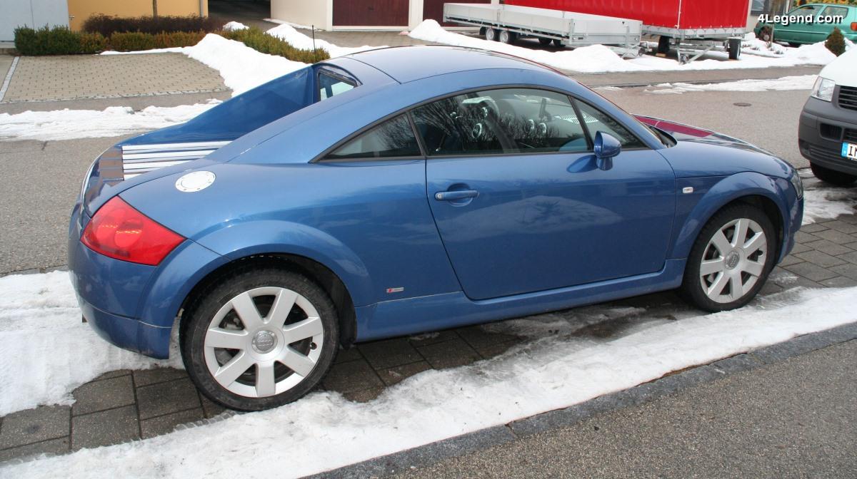 Audi TT Pick-up MTM  - Un TT en version utilitaire