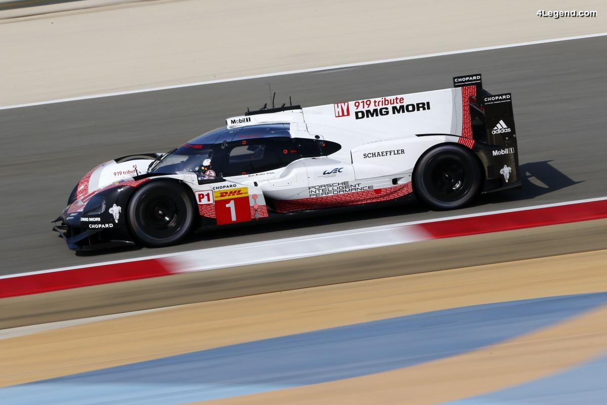 WEC - 20ème Pole Position de la Porsche 919 Hybrid aux 6 Heures de Bahreïn 2017