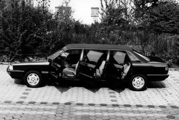 Audi 200 Pullman de 1989 – Une limousine à 6 portes et à 8 places