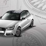 Audi A1 Heritage – Une série spéciale by Borrani