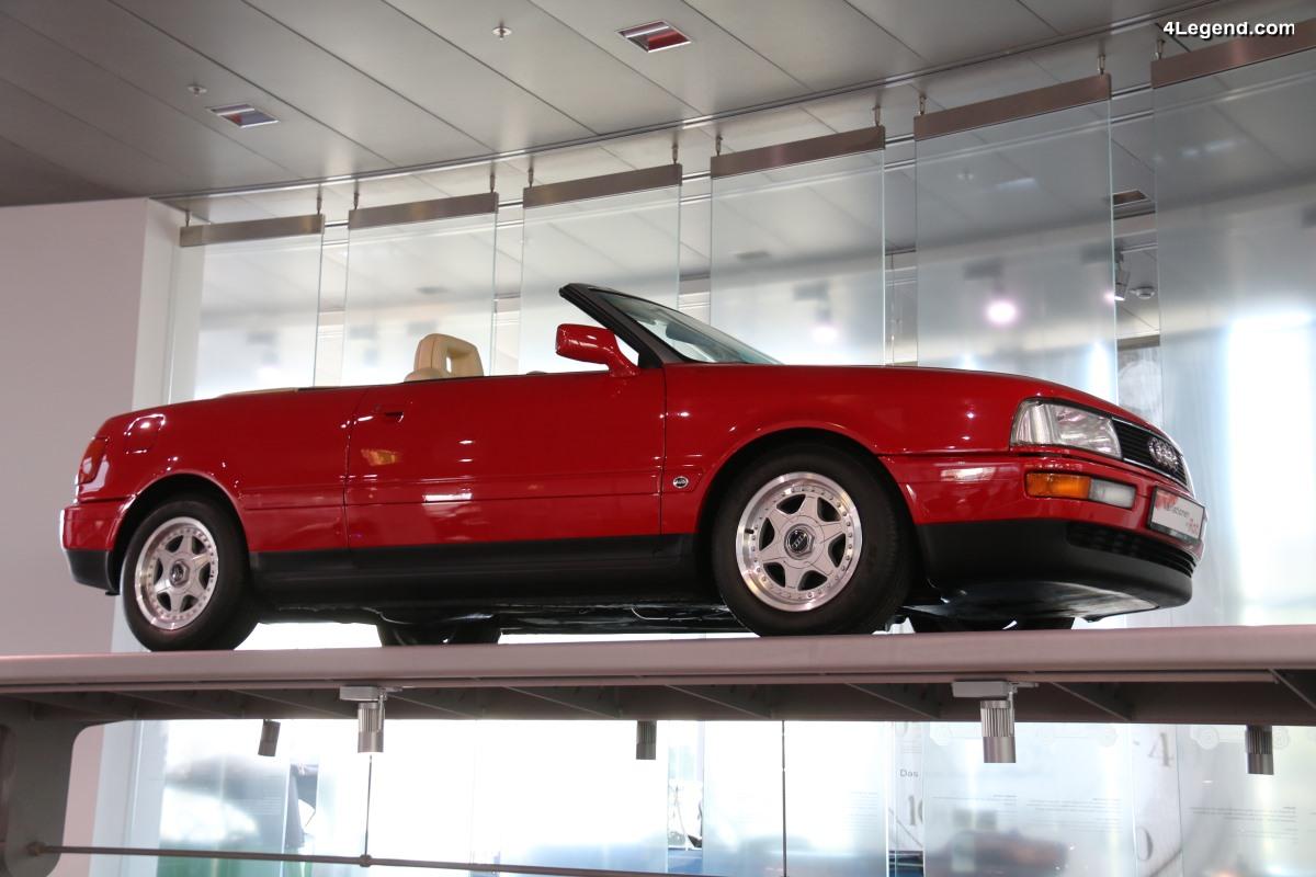 Audi Cabriolet Studie de 1989 - Le concept car annonçant l'Audi 80 Cabriolet