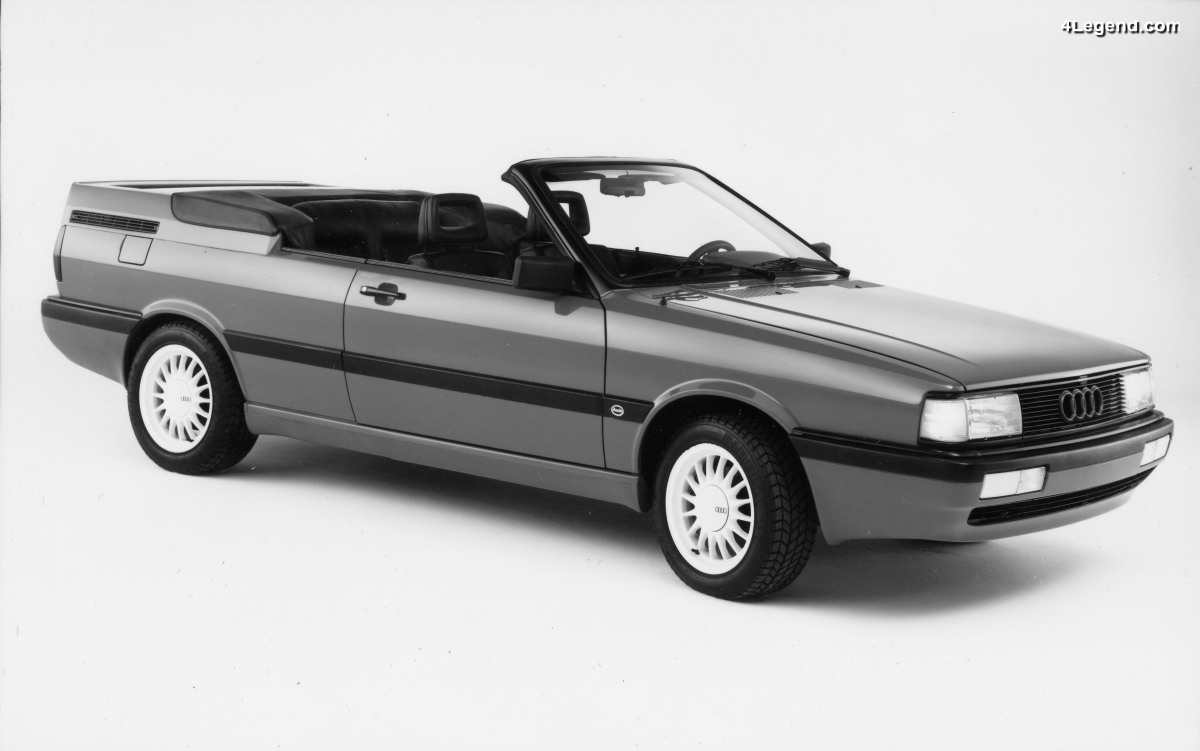 Audi GT Cabrio de 1986 - Une étude américaine de cabriolet sur base d'Audi Coupé GT faite par ASC