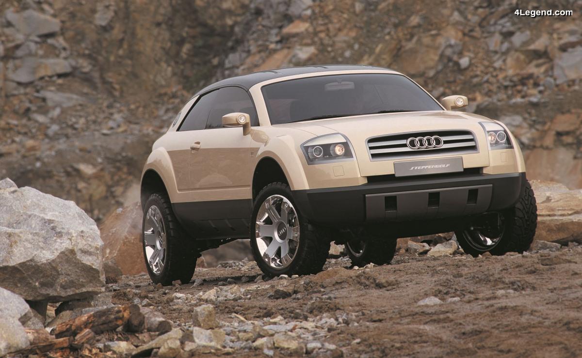Audi Steppenwolf de 2000 - Le loup des steppes