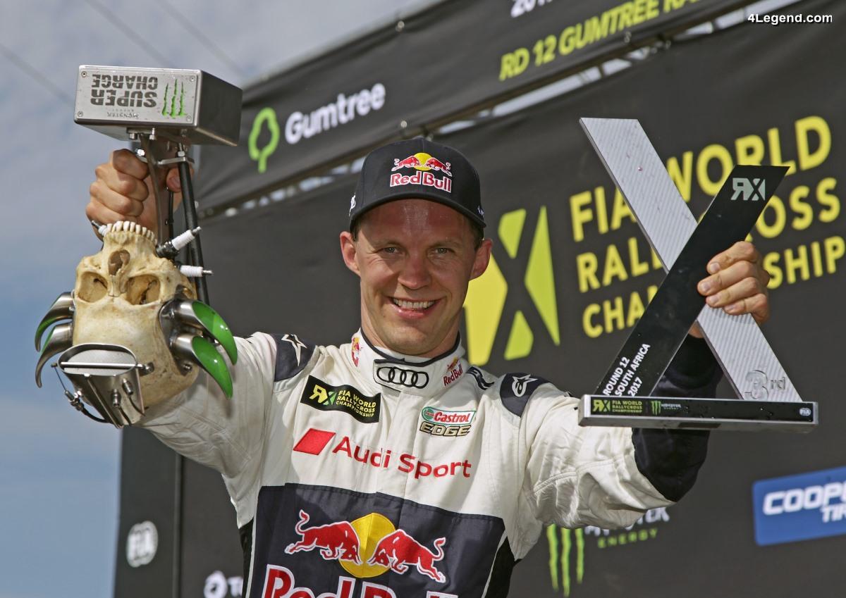 WRX - Mattias Ekström est vice-champion 2017 avec son Audi S1 EKS RX quattro