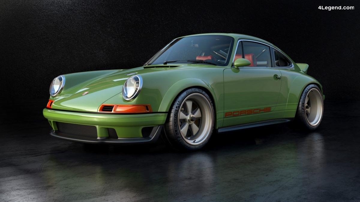 Porsche 911 Type 964 de 1990 de 500 ch restaurée par Singer Vehicle Design - Légère et ultra puissante