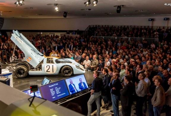 Porsche Sound Nacht 2017 – Écoutez les sons des différentes Porsche présentées