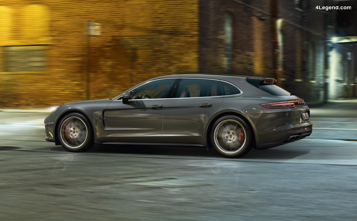 La Porsche Panamera Turbo Sport Turismo élue meilleure voiture de sport au