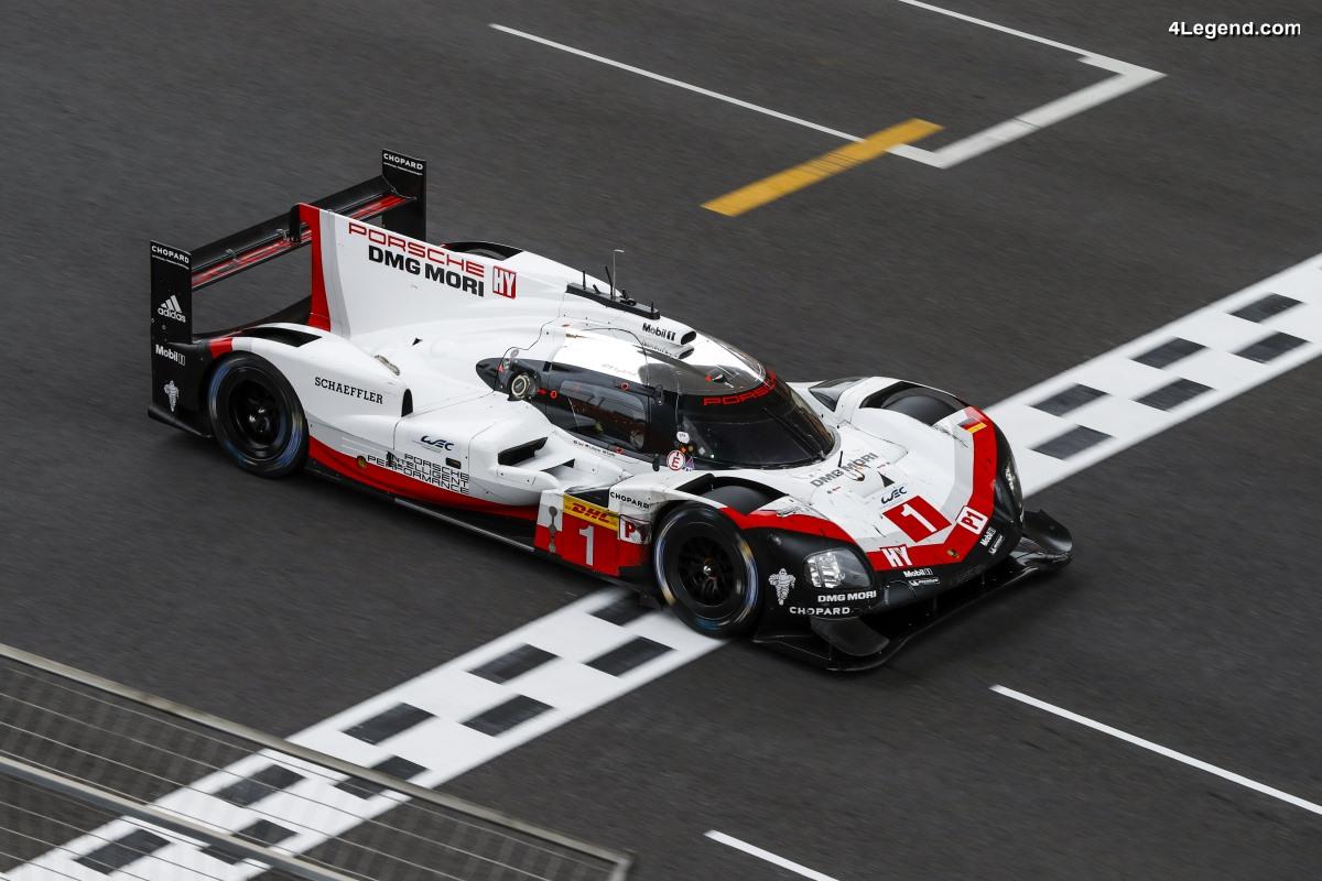 WEC - Porsche remporte une 3ème fois le championnat d'endurance aux 6 Heures de Shanghai 2017 via un podium