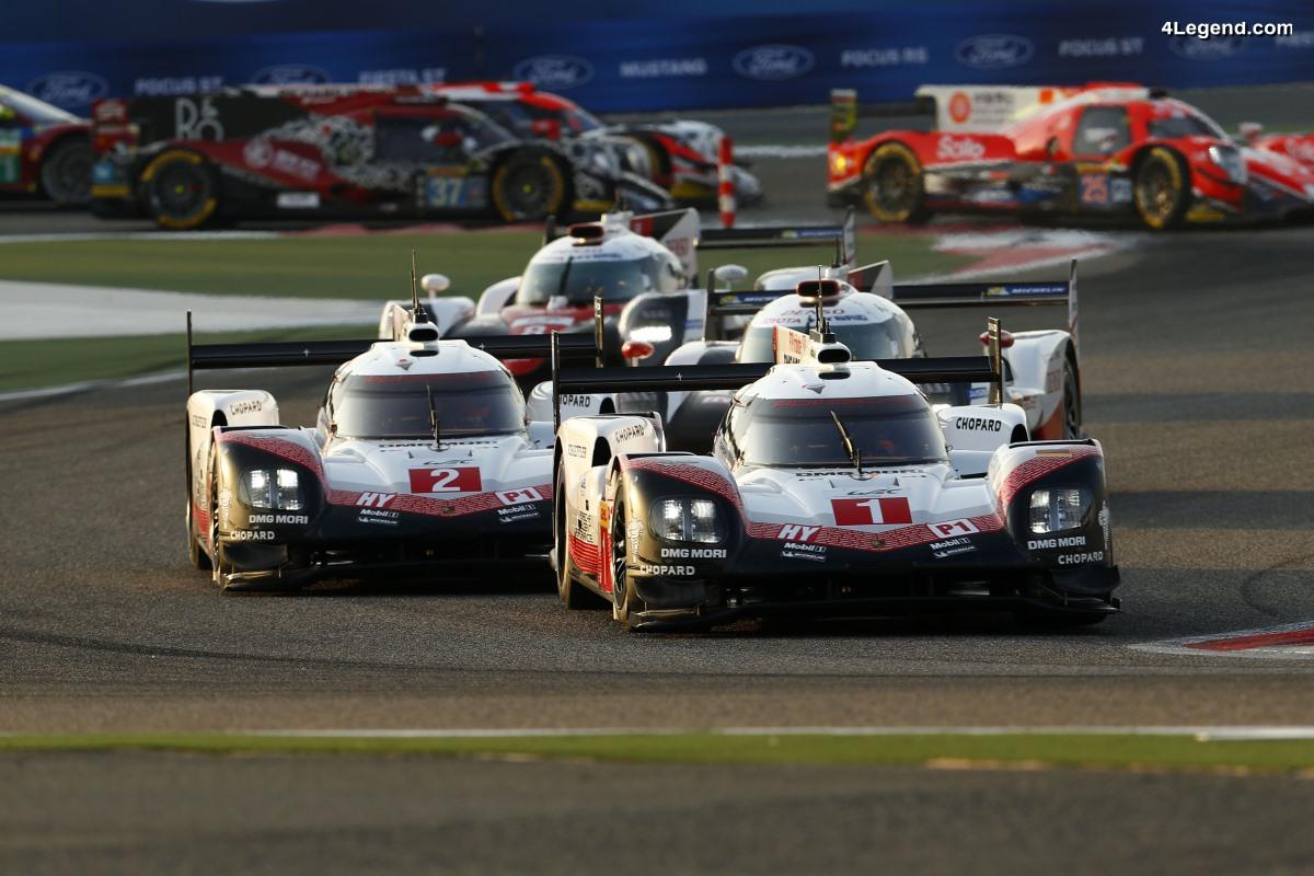 WEC - La Porsche 919 Hybrid tire sa révérence par deux podiums aux 6 Heures de Bahreïn 2017