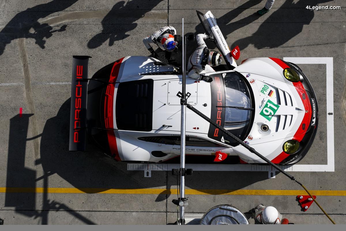 WEC - Les Porsche 911 RSR de nouveau sur la première ligne de la grille de départ