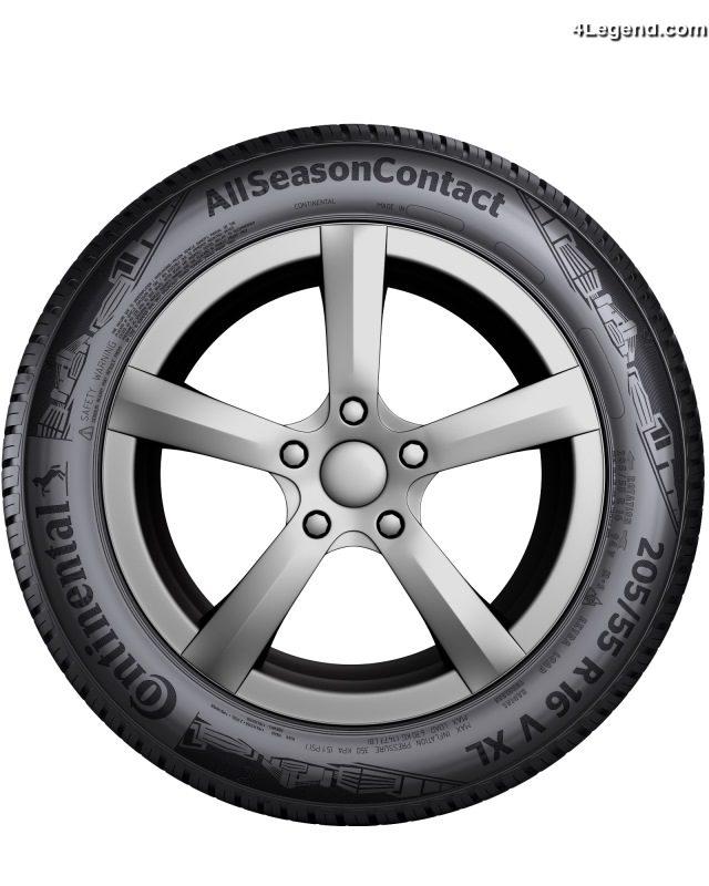 nouveau pneu continental allseasoncontact un nouveau pneu 4 saisons premium. Black Bedroom Furniture Sets. Home Design Ideas